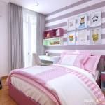 Thiết kế nội thất chung cư Him Lam Riverside 75m2 – Chị Hợp