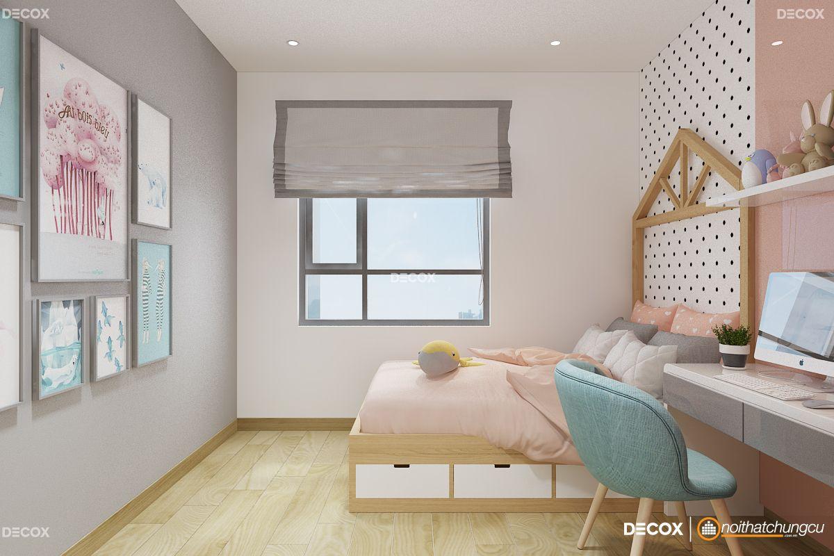 Thiết kế nội thất chung cư 70m2 Masteri Thảo Điền