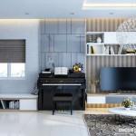 Thiết kế nội thất chung cư 58m2 Park Residence – Anh Duy