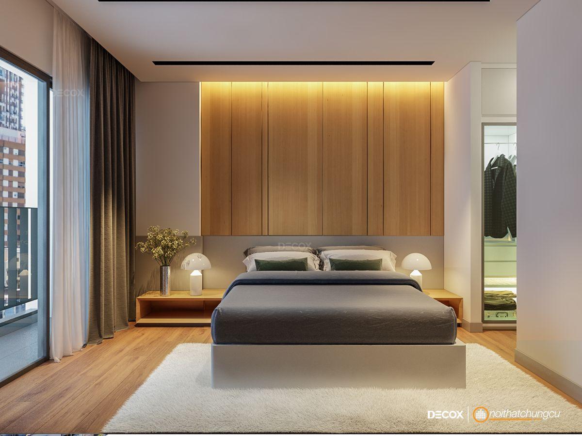 Thiết kế nội thất chung cư Masteri 65m2 Anh Huy