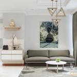 Thiết kế nội thất chung cư 70m2 Vinhomes Central Park
