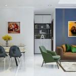 Thiết kế nội thất chung cư 73m2 Vinhomes Central Park – Anh Tú