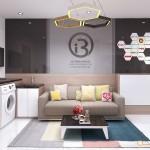 Thiết kế nội thất chung cư Everrich Infinity – Anh Tín