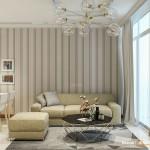 Thiết kế nội thất chung cư 72m2 Vinhomes Central Park – Cô Sương
