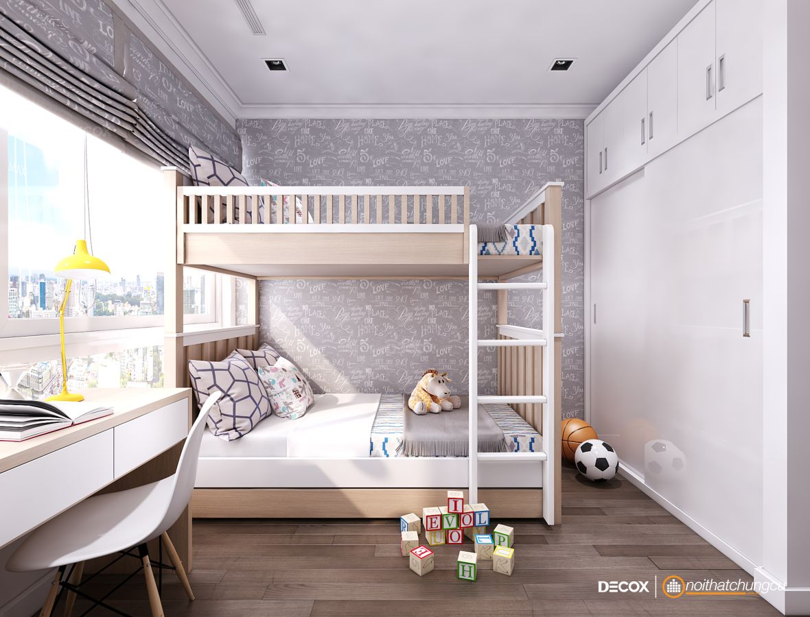 Thiết kế nội thất chung cư 75m2 Vinhomes Central Park