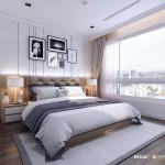 Thiết kế nội thất chung cư 75m2 Vinhomes Central Park – Anh Duyên