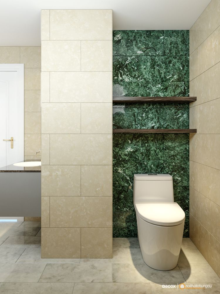 Thiết kế nội thất chung cư 160m2 Vũng Tàu - Chị Dung