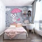 Thiết kế nội thất chung cư 107m2 Vinhomes Central Park – Anh Tiến