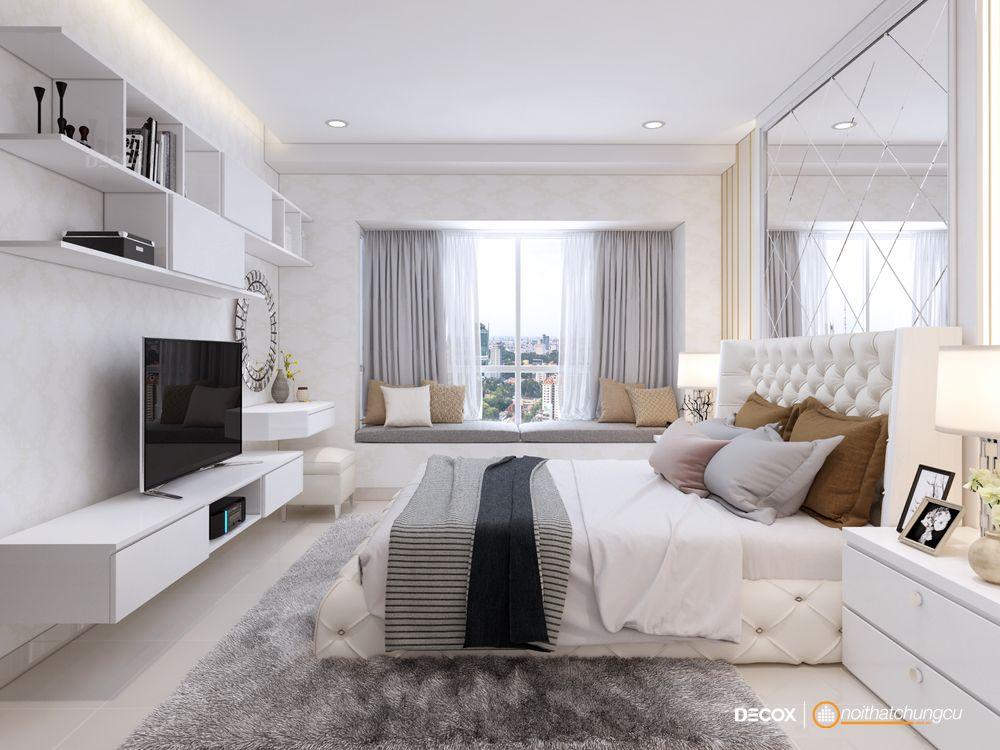 Thiết kế nội thất chung cư Sunrise City 117m2