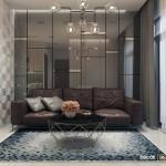 Thiết kế nội thất chung cư 65m2 Vinhomes Central Park – Chị Châu