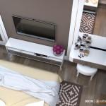 Thiết kế nội thất chung cư Masteri 87m2 – Chị Thúy