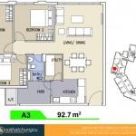 Mặt bằng căn hộ chung cư Celadon City