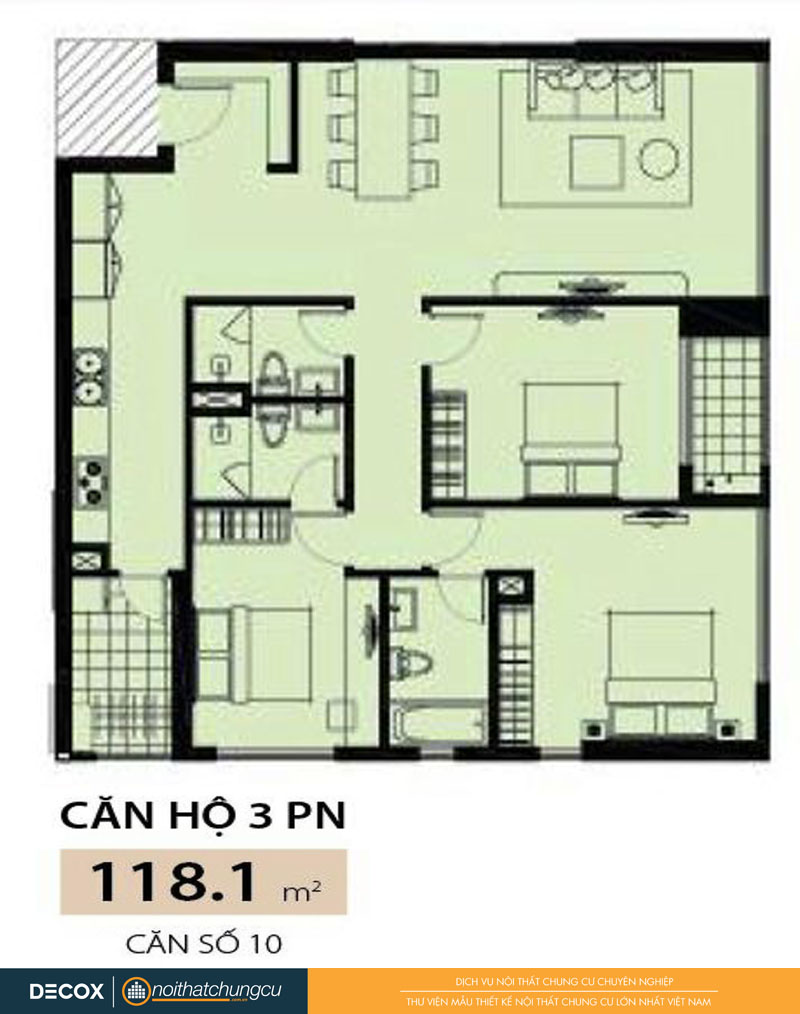 mat-bang-dien-hinh-can-ho-garden-gate-3pn-118m2