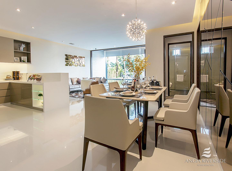 Thiết kế nội thất căn hộ chung cư An Gia Riverside