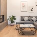 Thiết kế nội thất căn hộ 150m2 phong cách Bắc Âu