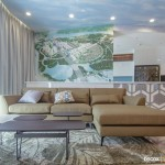 Thi công nội thất chung cư Sarimi Sala 130m2