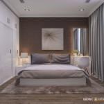 Thiết kế nội thất chung cư 65m2 Vinhomes Central Park – Anh Công Minh