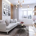 Thiết kế nội thất chung cư Orchard Garden 66m2 – Anh Kiên