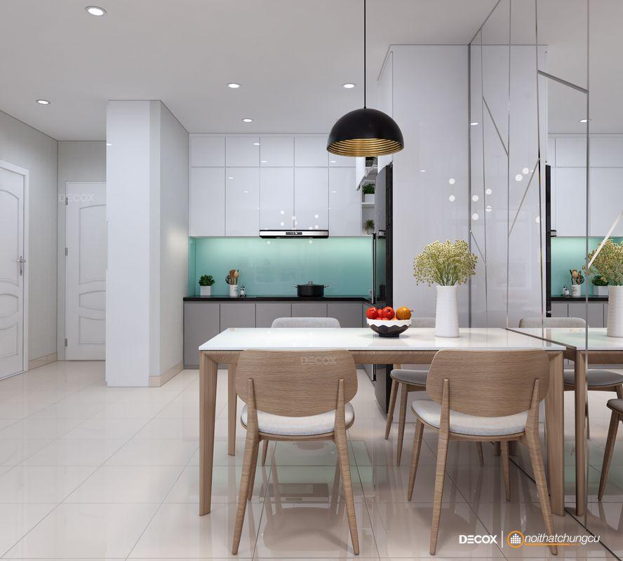 Thiết kế nội thất chung cư Orchard Garden 66m2