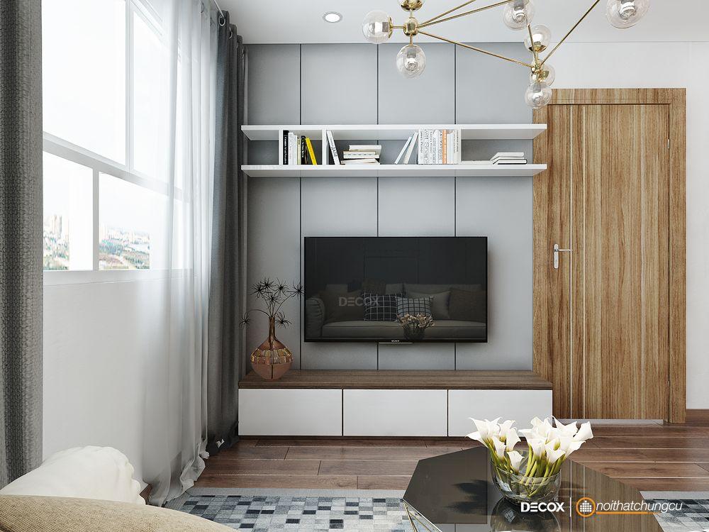 Thiết kế nội thất chung cư Ihome 69m2