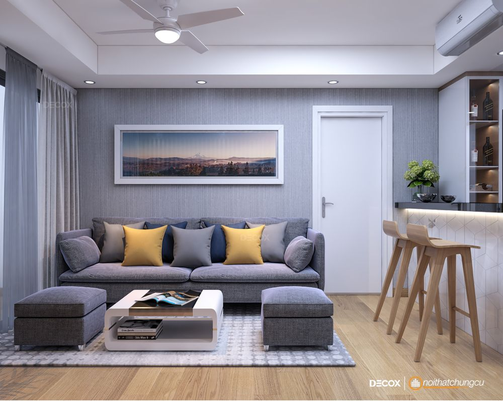 Thiết kế nội thất chung cư Masteri Thảo Điền 66m2