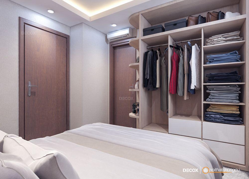 Thiết kế nội thất chung cư 49m2 Soho Riverside – Chị Thảo