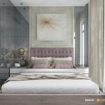Thiết kế nội thất chung cư 103m2 Vinhomes Central Park – Chị Phượng