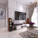Thiết kế nội thất chung cư 69m2 Vinhomes Central Park – Chị Ninh