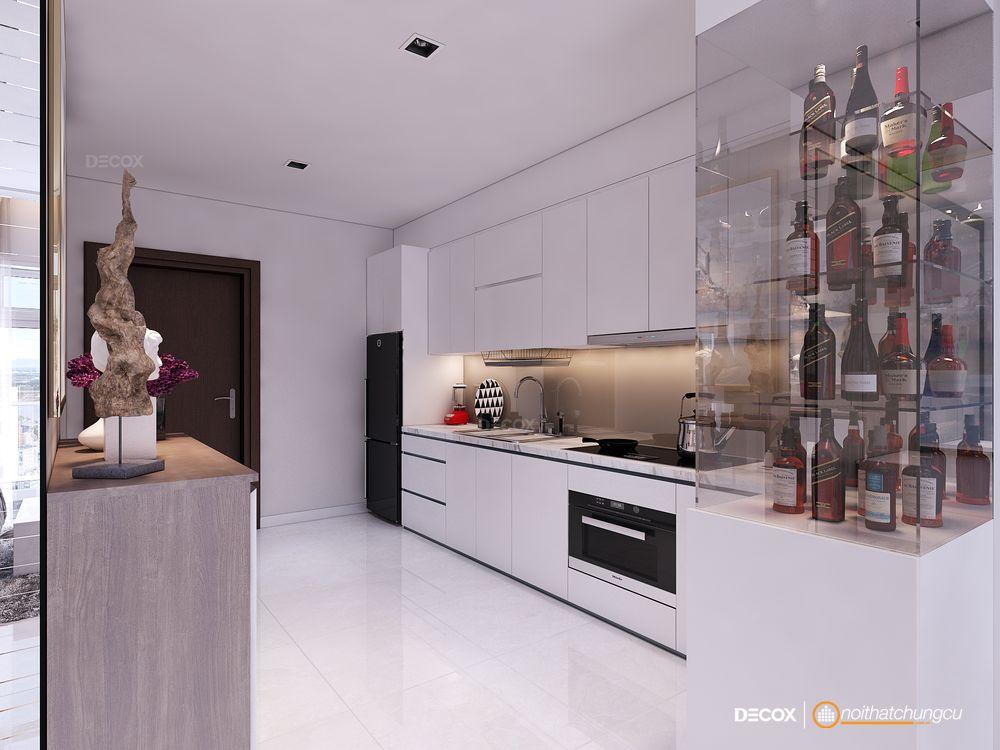 Thiết kế nội thất chung cư 69m2 Vinhomes Central Park
