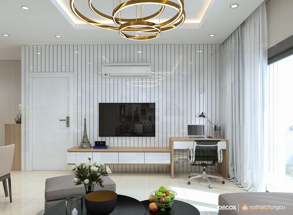 Thiết kế nội thất căn hộ chung cư 103m2 Everrich Infinity