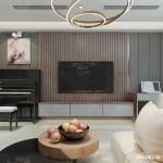Thiết kế nội thất căn hộ chung cư 104m2 Eastern – Chị Trang