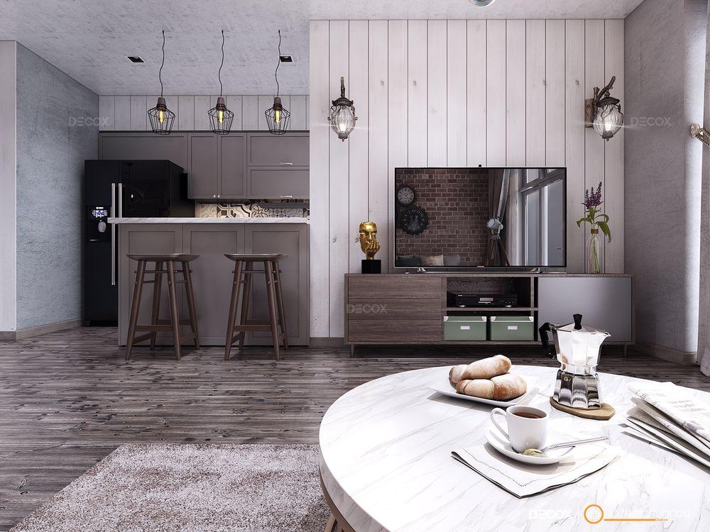 Thiết kế nội thất chung cư 140m2 Vinhomes Central Park