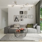 Thiết kế nội thất chung cư Masteri Thảo Điền 64m2 – Chị Phương