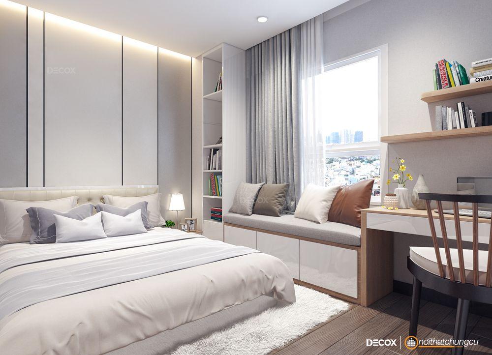 Thiết kế nội thất chung cư Lexington 66m2
