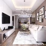 Thiết kế nội thất chung cư 70m2 Park Residence – Anh Khôi