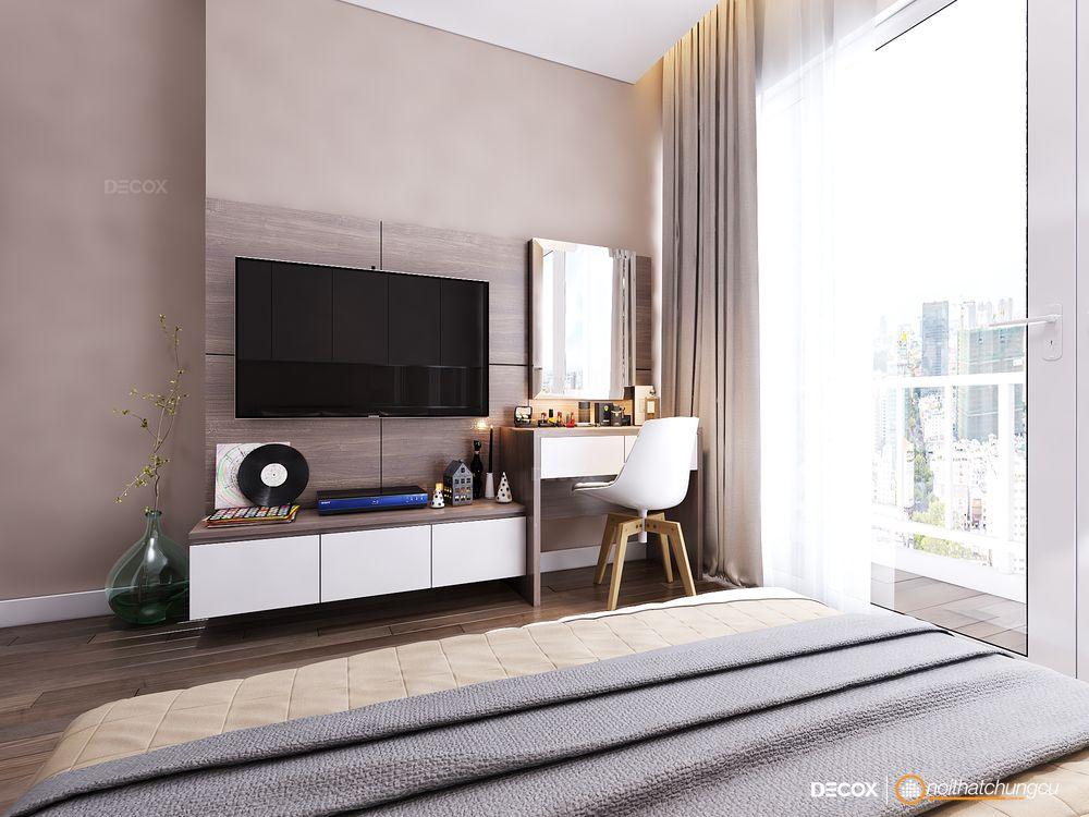 Thiết kế nội thất chung cư 70m2 Park Residence
