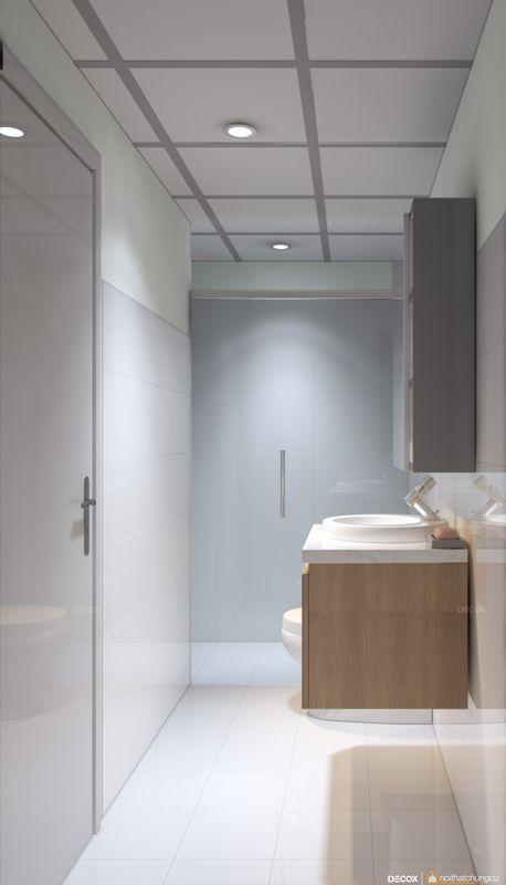 Thiết kế nội thất chung cư 70m2 Topaz Center