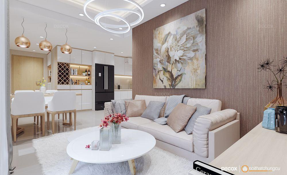 Thiết kế nội thất chung cư Masteri Thảo Điền 73m2