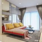 Thiết kế nội thất chung cư Masteri Thảo Điền 74m2 – Anh Nghĩa