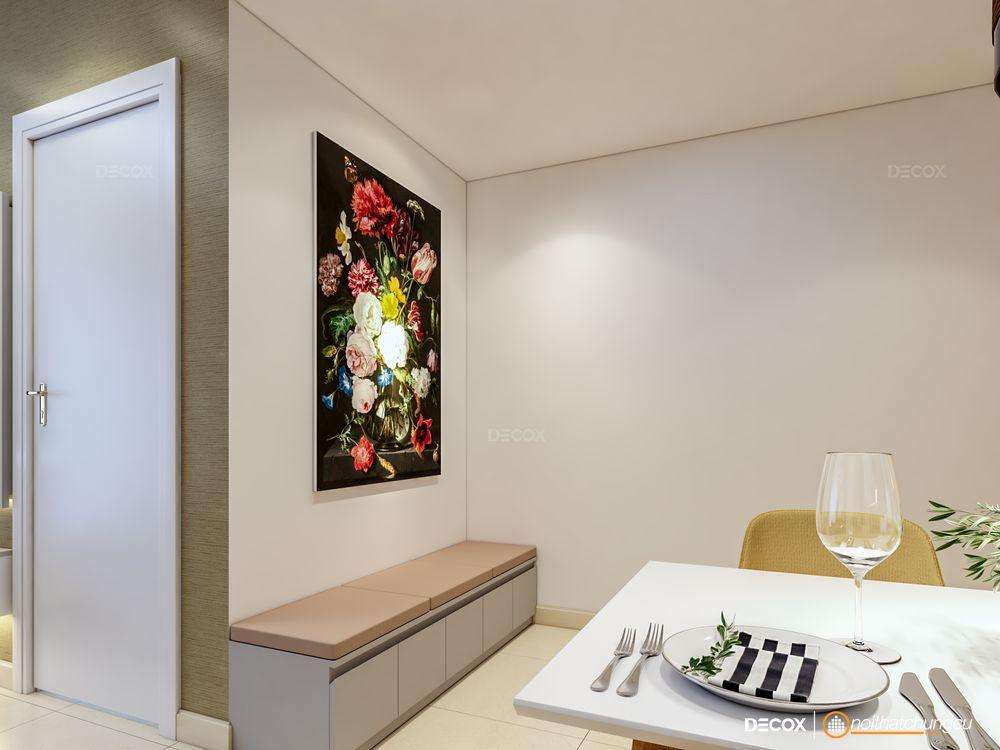 Thiết kế nội thất chung cư Masteri Thảo Điền 74m2