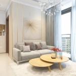 Thiết kế nội thất chung cư 75m2 Vinhomes Central Park – Chị Trang