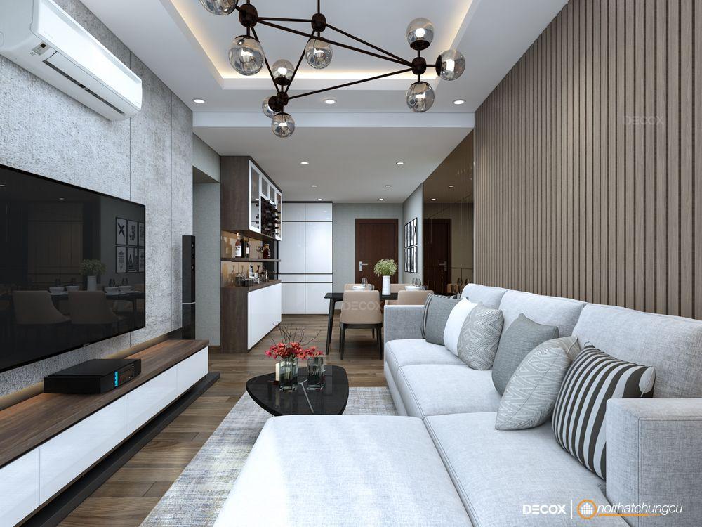 Thiết kế nội thất chung cư Lexington 83m2