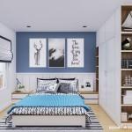 Thiết kế nội thất chung cư Masteri Thảo Điền 90m2 – Chị Ngọc