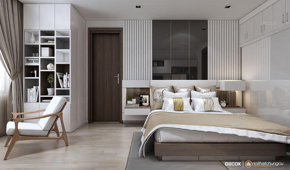 Thiết kế nội thất căn hộ chung cư 85m2 Everrich Infinity