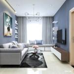 Thiết kế nội thất chung cư Saigonres 71m2 – Anh Tú