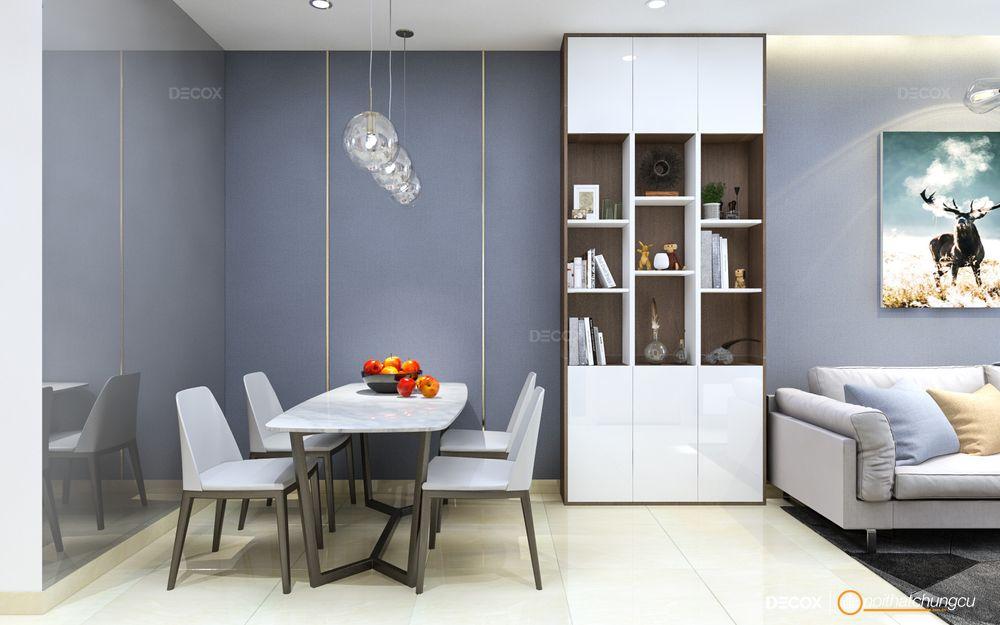 Thiết kế nội thất chung cư Saigonres 71m2