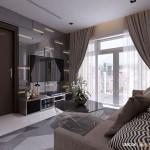 Thiết kế nội thất chung cư 109m2 Vinhomes Central Park – Anh Lộc