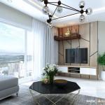 Thiết kế nội thất chung cư Splendor 110m2 – Anh Lộc