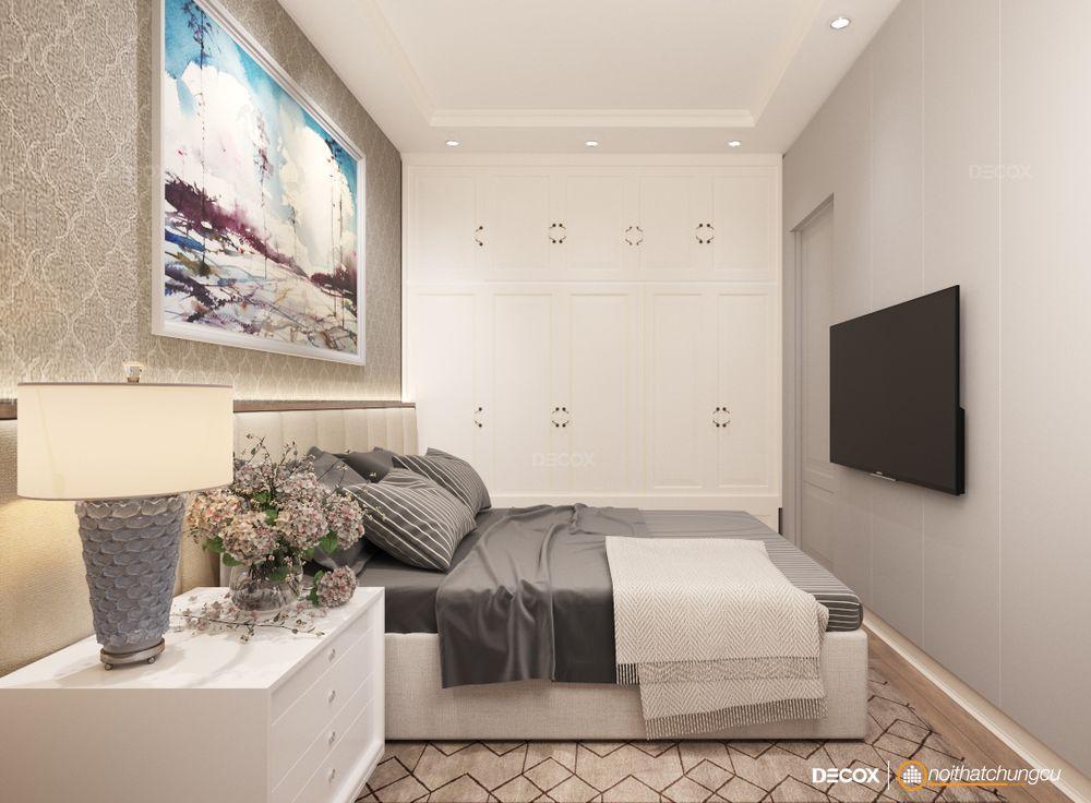 Thiết kế nội thất chung cư Gold View 116m2