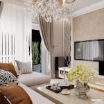 Thiết kế nội thất chung cư Gold View 116m2 – Anh Phú